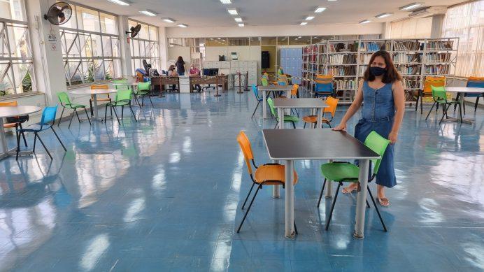 foto04 Sala de leitura e pesquisa reabre com ocupação simultânea de 30 pessoas 27ago21 Tetê Viviani