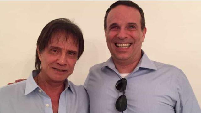 Filho de Roberto Carlos, Dudu Braga inicia tratamento contra câncer