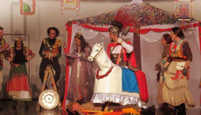 Satura Companhia de Teatro participa do FEESPE com o espetáculo Jorge, o Santo Guerreiro