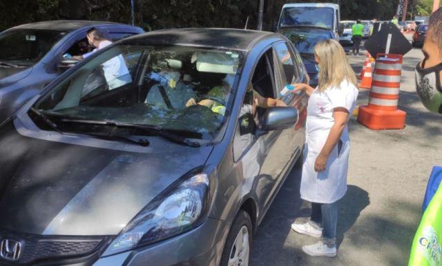 Barreiras sanitárias: 461 veículos impedidos de entrar na cidade no fim de semana