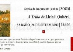 """Lançamento do livro """"A TRIBO"""" de Licínia Quitério"""