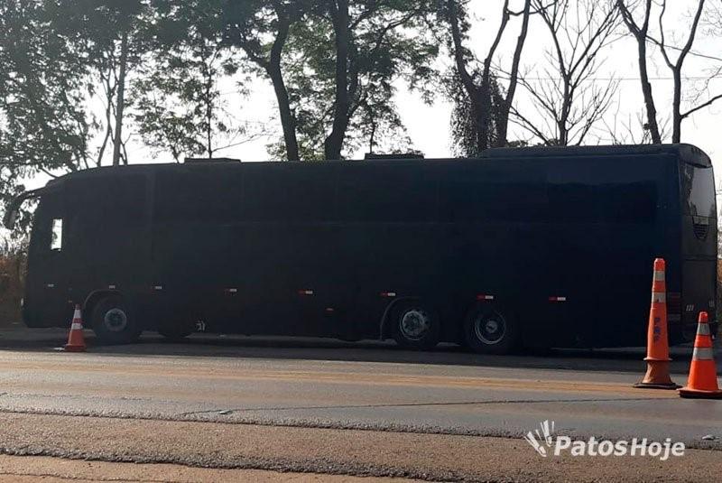 Jornal de Patrocínio - PRF apreende carregamento de cocaína no valor de R$ 7 milhões em ônibus de banda