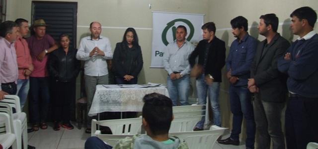 Convenção do PV (Foto: Nara Coelho/Fatos do Iguaçu)