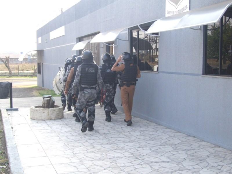 A caminho da operação (Foto:Gisele de Pádua/Fatos do Iguaçu)