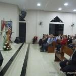 Missionário Azor levando a palavra de Deus para os membros da Igreja Presbiteriana do Pinhão