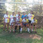 Equipe campeã futebol sete Feminina - Bento