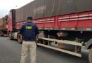 PRF retém dois bitrens com quase 50 toneladas de excesso de peso