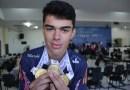 JEPS: Pinhãoenses faturam 19 medalhas no xadrez