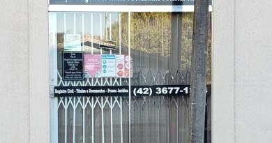 COMUNICADO: Cartório de Registro Civil