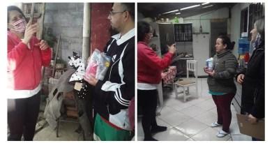 """Pinhão: Projeto """"Nada Sobre Nós, Sem Nós"""" entrega kit de higiene e leva informações aos surdos"""