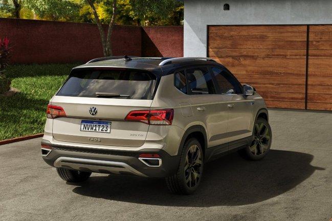 Apresentação mundial do Volkswagen Taos