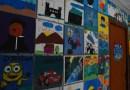 Nova Hartz: Crianças e adolescentes do Serviço de Convivência expõem suas pinturas no CRAS