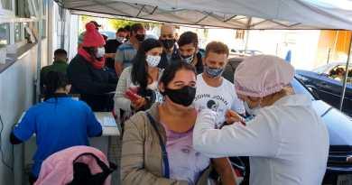 Parobé vacina mais de duas mil pessoas em apenas seis horas e agenda novas aplicações da vacinação covid