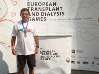 Três medalhas nos Europeus de Zagreb. Miguel consegue o ouro e Luis o bronze em singulares na modalidade de ténis, em pares os dois conseguem a medalha de ouro. Imparáveis os dois tenistas transplantados de coração.