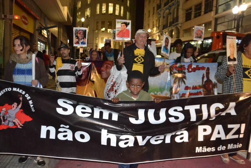 Mães de Maio- São Paulo - maio de 2015