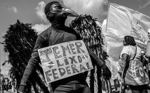 IMAGENS: o povo que resistiu nas ruas em Brasília