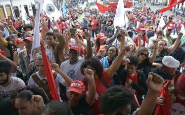 Ato em Ouro Preto por Lula Livre