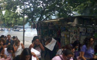 Professoras são atacadas pela PM em Belo Horizonte