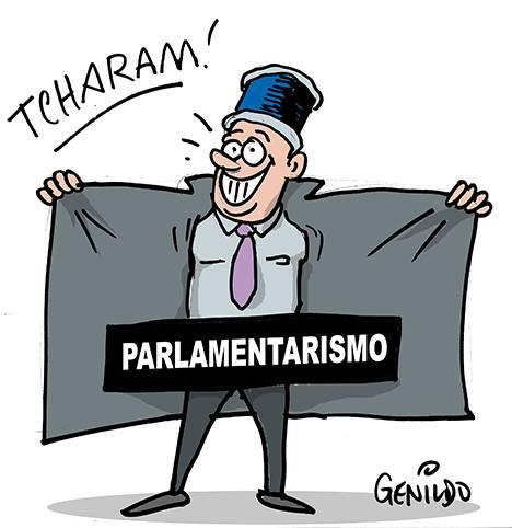 Resultado de imagem para parlamentarismo charges