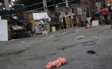 Veja como amanheceram os desabrigados vítimas do incêndio da Favela…