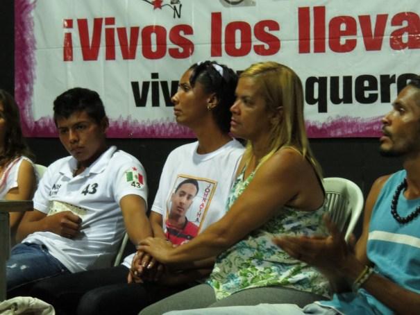 Francisco, Ana Paula, Irone e Vítor na coletiva de imprensa. Foto: Miriane Peregrino