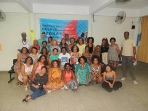 Reunião de mobilização da Marcha em São Gonçalo. Foto: Página Mulheres Negras do RJ na Marcha 2015 (https://www.facebook.com/mulheresnegrasrjmarcha2015)