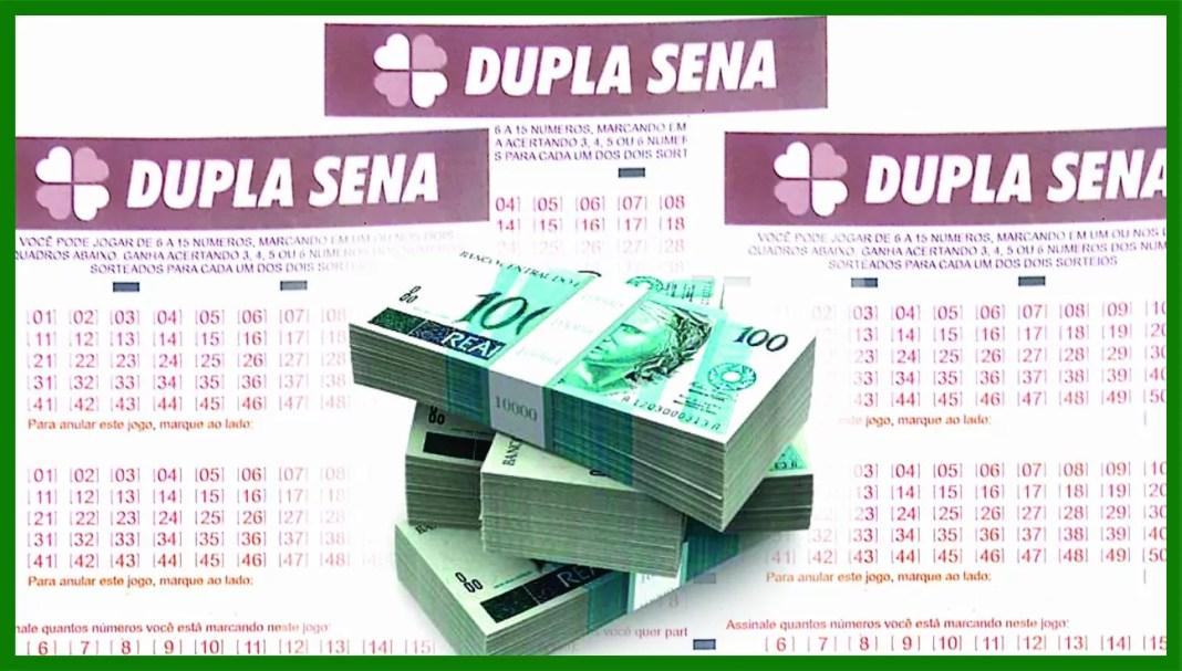 Resultado da Dupla-Sena / Imagem : Ueslei Mendes de Souza
