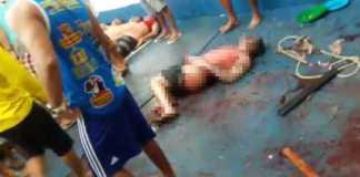 Foto e vídeo do massacre Complexo Penitenciário Anísio Jobim