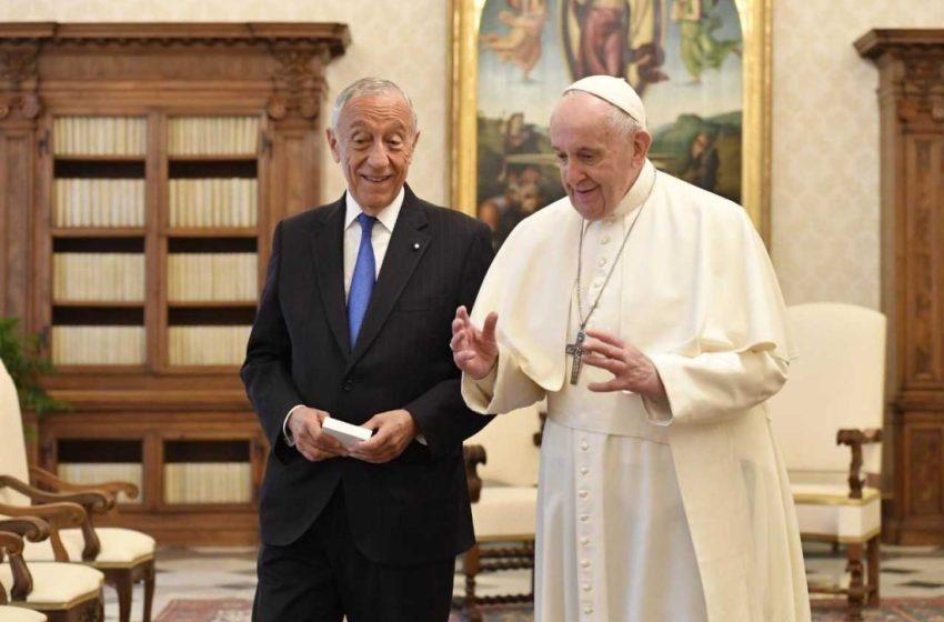 Papa recebeu Marcelo esta manhã. Além de Lisboa, Francisco visita Fátima em 2023