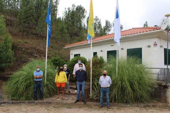 Vila de Rei: Bostelim hasteou Bandeira Azul pelo sexto ano consecutivo