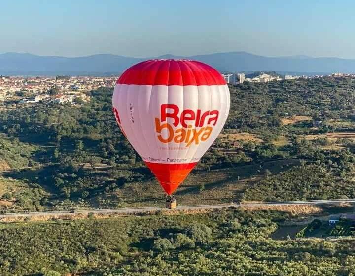CIMBB: Beira Baixa dá-se a conhecer em voos de balão