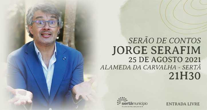 Sertã: Jorge Serafim participa no «Serão de Contos»
