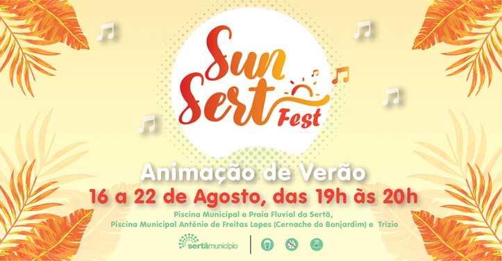Sertã: Sunset, animação de verão