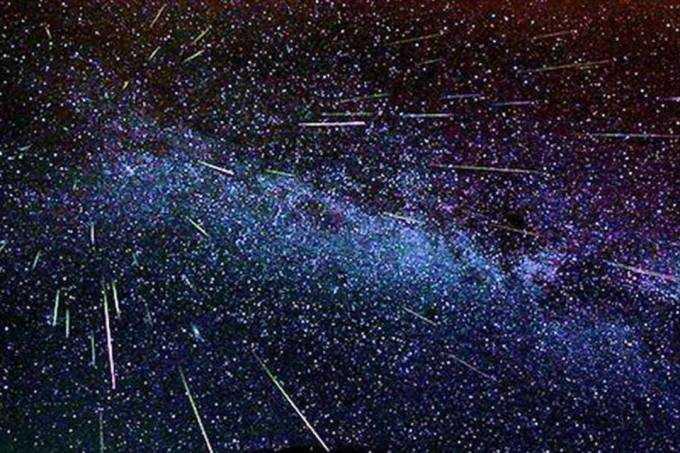 Chuva de estrelas das Perseidas