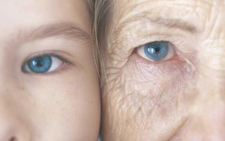Envelhecer é geração para eternecer