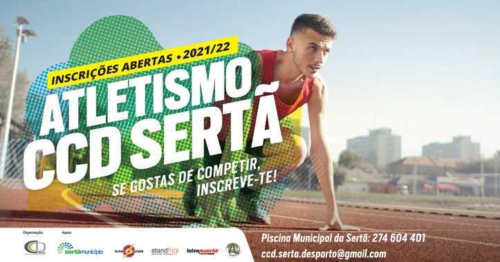 Sertã: Atletismo, CCD com inscrições para nova época