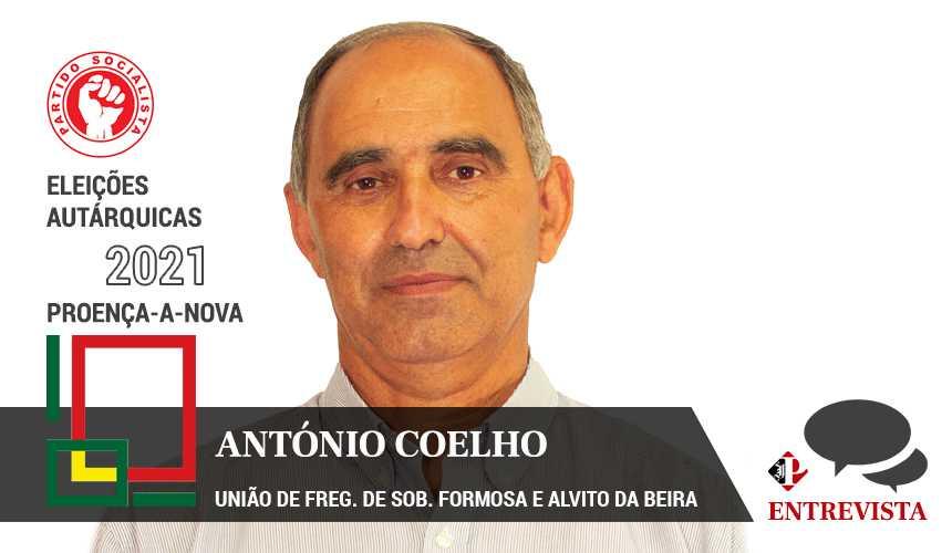 """Autárquicas 2021: António Alberto Coelho quer """"continuar a crescer"""""""