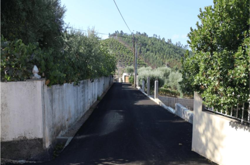 Vila de Rei: Várias localidades com pavimentações concluídas