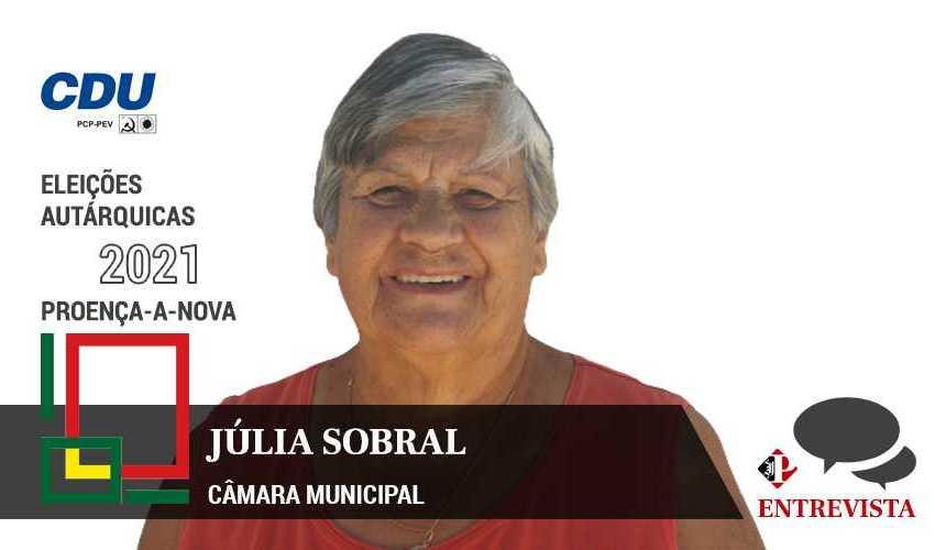 """Autárquicas 2021: Júlia Sobral quer estar """"ao lado de todos"""""""