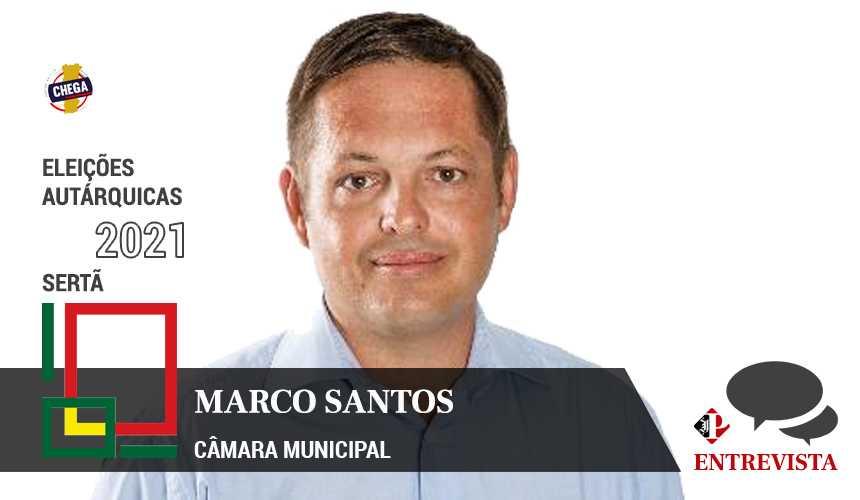 Autárquicas 2021: Marco Santos é o candidato do Chega à Câmara Municipal da Sertã