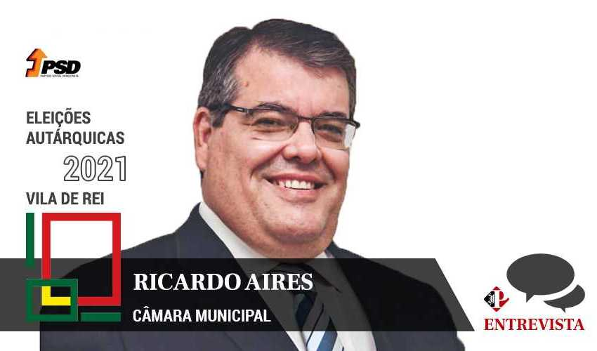 Autárquicas 2021: Ricardo Aires é o candidato do PSD à Câmara Municipal de Vila de Rei