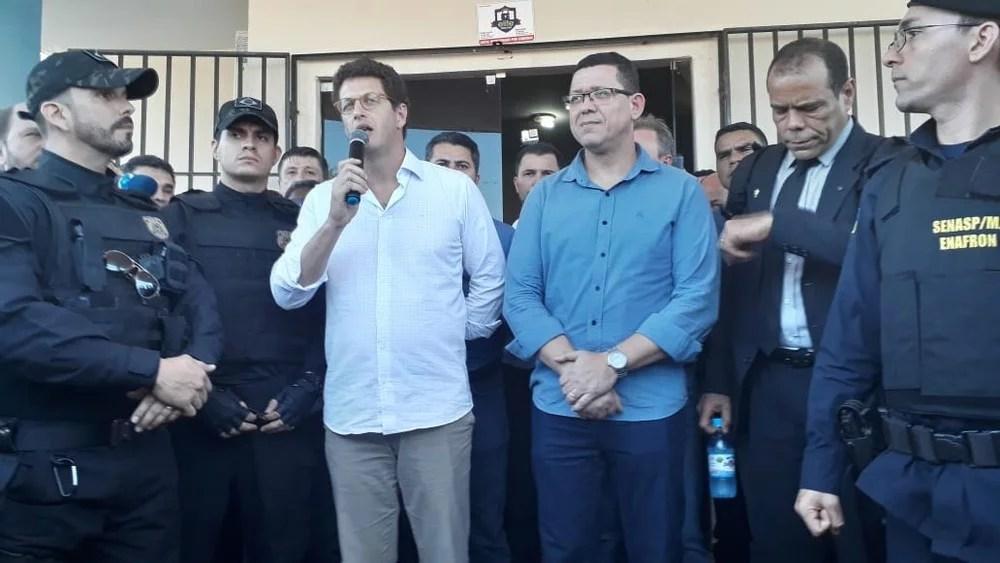Geraldo da Rondônia comenta vinda do ministro a Rondônia e cobra do governo posição sobre a queima de maquinários em Cujubim