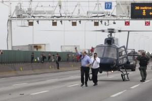 Governador do Rio, Witzel comemora desfecho de sequestro