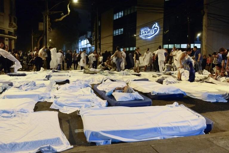 Incêndio em hospital particular no Rio mata 11 pessoas