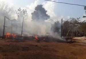 Incêndio é registrado em aldeia indígena Karitiana em RO