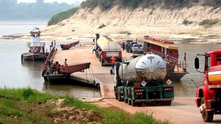 Seca do Rio Madeira pode prejudicar abastecimento de combustível em Porto Velho