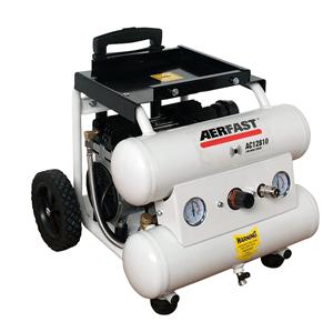 Bekend AC12810 Geluidsarme compressor Aerfast + gratis 10m slang en univ TH77
