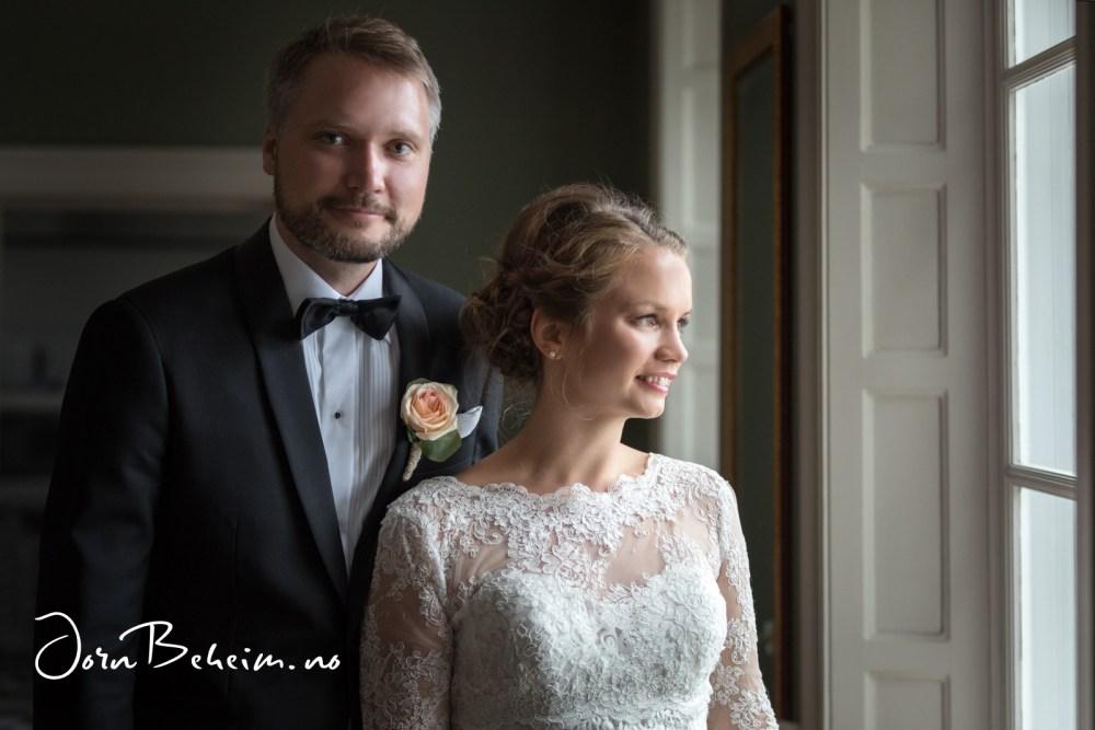 Bryllupsfoto Kjørbo Gård