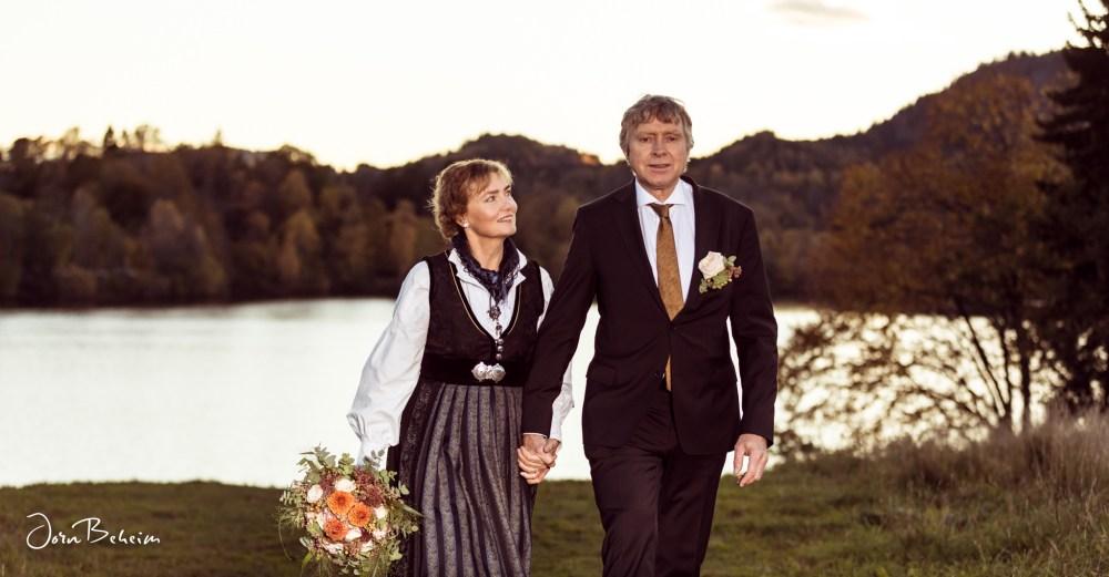 Bryllupsfotograf Jørn Beheim på Sem Gjestegård i Asker.