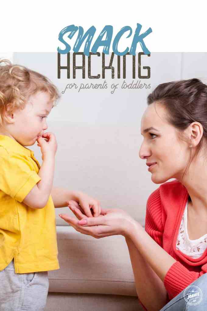 Snack Hacking for Parents of Toddlers